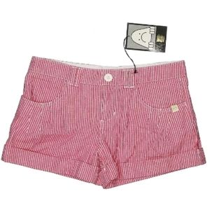 Insight Berrylicious Pink Striped Shorts